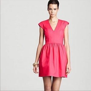French Connection Unno Cap Sleeve dress pink 6